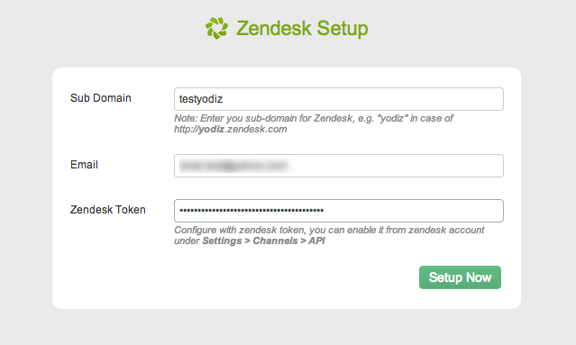 How to Integrate Zendesk with Yodiz